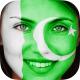 FlagFace - paint your Face