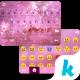 Pink Galaxy Emoji KikaKeyboard