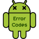 Error Codes & Fixes