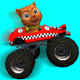 Cat Race Car Extreme Driving