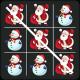 Tic Tac Toe Emoji Christmas