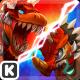 Dinowar:Tyranno VS Triceratops