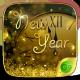 New Year GO Keyboard Theme