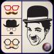 Charlie Chaplin Mustache Style