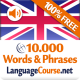 Learn English Words & Travel Phrases - Free Vocabulary