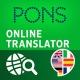 PONS Online Translator - free online dictionary