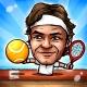 Puppet Tennis: Topspin Tournament of big head Marionette legends